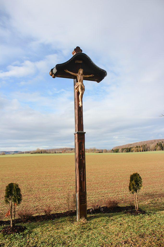 Bild Wegekreuz bei Bremelau